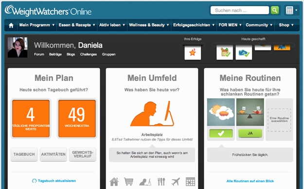 Online und per App
